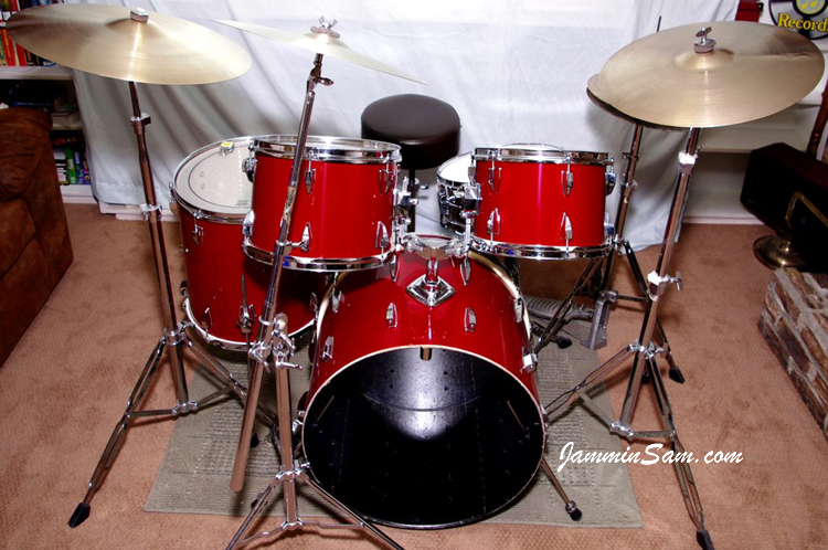 Js Hi Gloss Bright Red On Drums Page 3 Jammin Sam