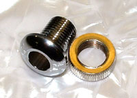 photo of our Heavy Duty Cast Metal Threaded Eyelets for drums with nut
