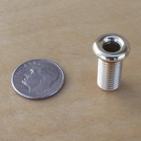 Close-up photo of our Vintage Chrome 5/16 inch Eyelet