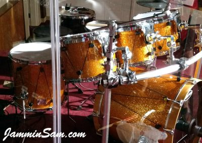 Photo of Jeffrey Hudson's drum project with Gold Glass Glitter from Jammin Sam (47)