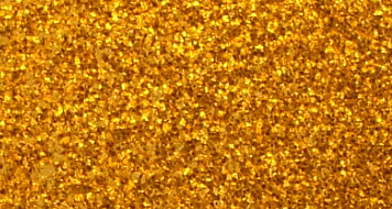 Drum Wrap Material: Example close-up of Vintage Gold Sparkle