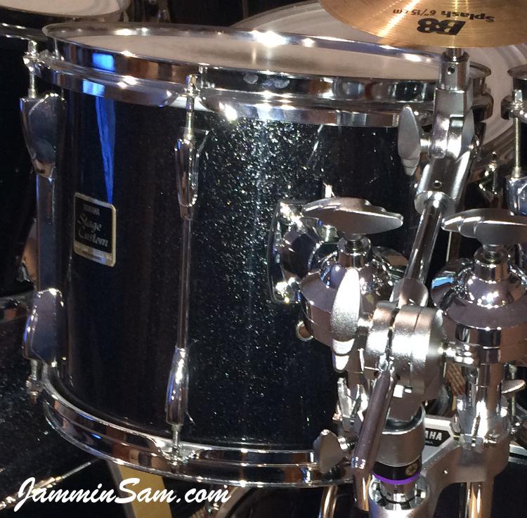 black sparkle snare size Drum Covering Drum Wrap