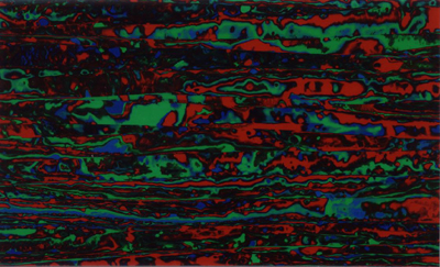 Drum Wrap Material: Example scan of Psychedelic Red