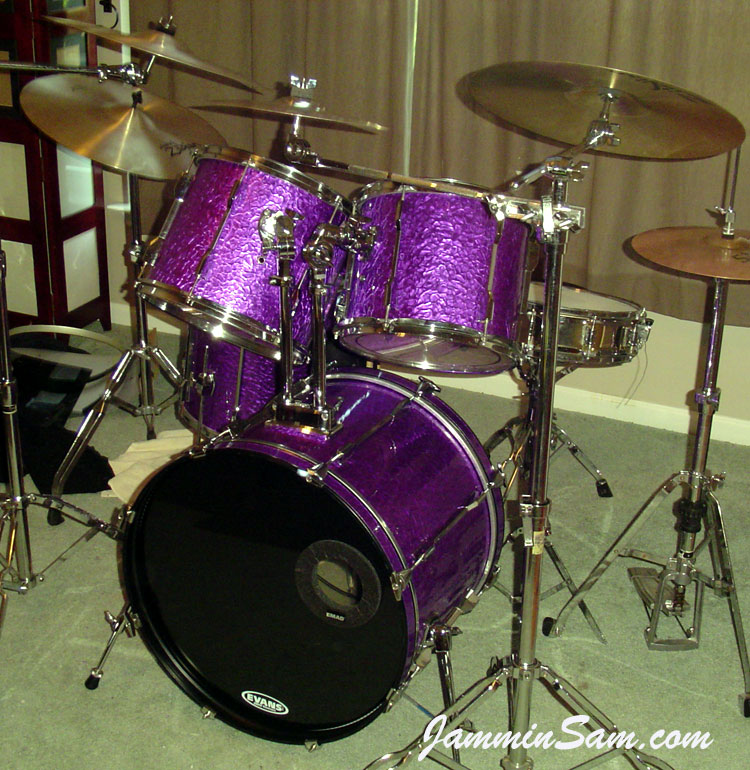 Drum Set Wallpaper Purple Pearl Drum Sets