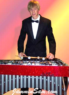 Photo of Bob Chesarek, owner of this vibraphone (2)