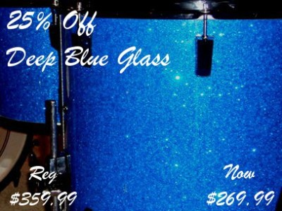 Deep Blue Glass