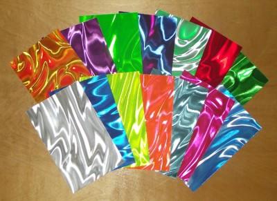 fan of satin drum wrap colors