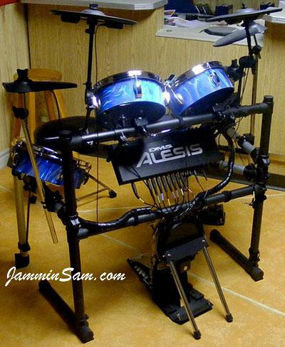 60 39 s blue satin on drums page 2 jammin sam. Black Bedroom Furniture Sets. Home Design Ideas