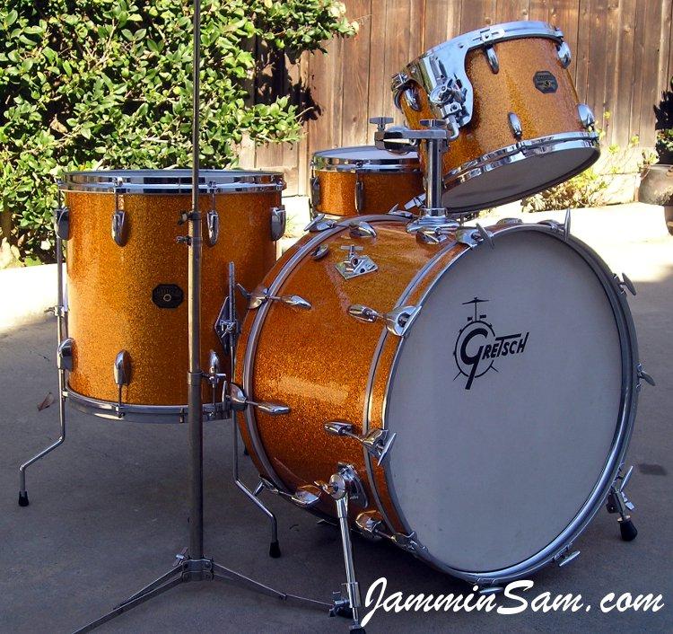 Gold Vintage Sparkle On Drums Page 4 Jammin Sam